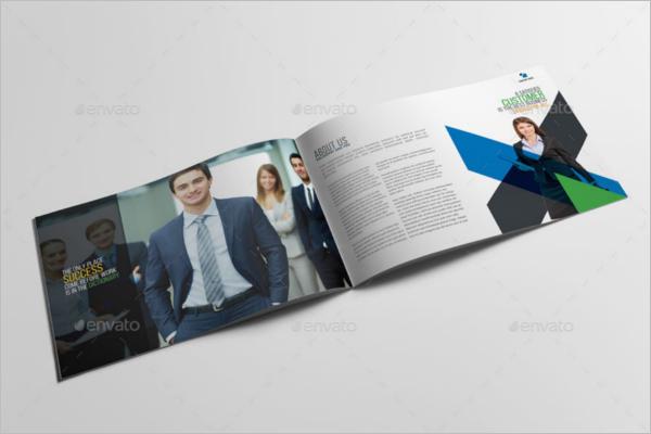 Half Fold Brochure Template