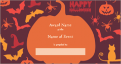 18+ Halloween Certificate Templates