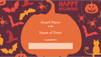 Fee printable certificate templates creativetemplate 18 printable halloween certificate templates yelopaper Choice Image