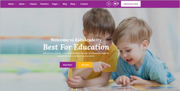 Happy Child WordPress Theme