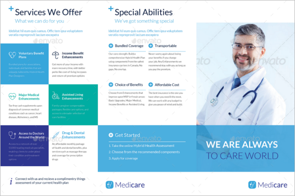 Health Brochure Template Microsoft