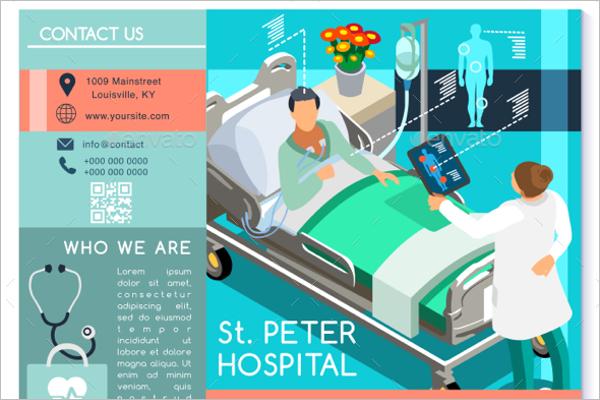 Health Brochure Vector Template