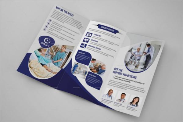 Health Care Brochure Template
