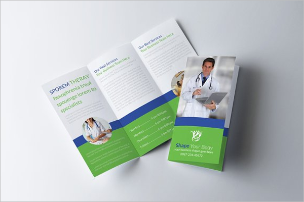 Health Education Brochure Template