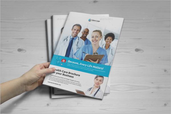Health Fair Brochure Template