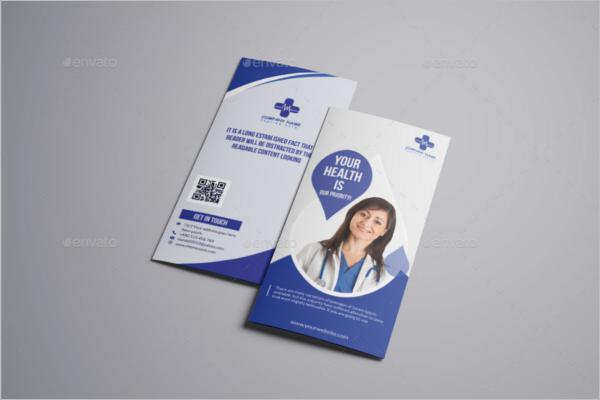 Health Tips Brochure Design