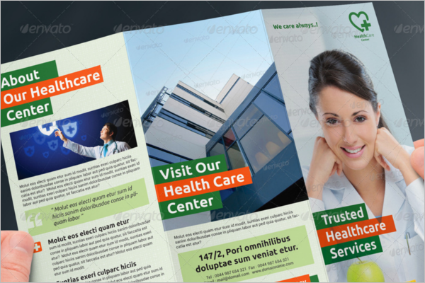 Hospital Brochure Design Templates Free PDF Samples Examples - Health brochure templates