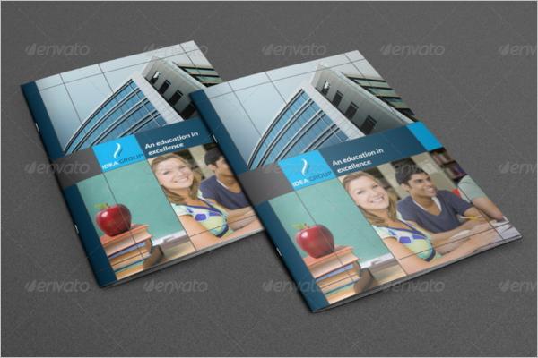 Higher Education Brochure Template