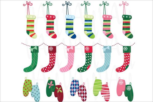 Hanging Christmas Stocking Idea