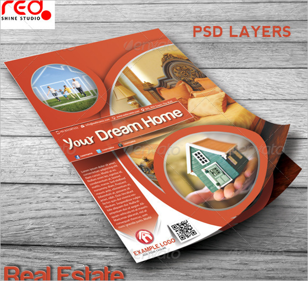 Home Advertising Poster Template