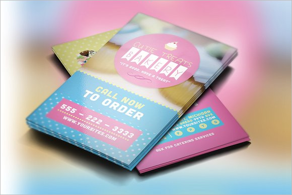 Home Bakery Business Card