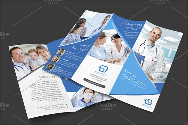 Home Health Brochure Template