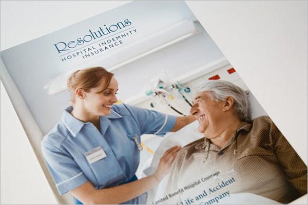 Hospital Brochure Vector Design
