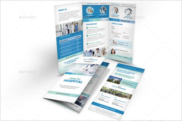 Hospital Trifold Brochure