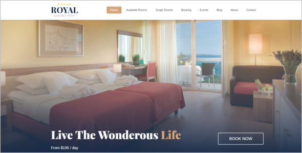 Hotel Booking HTML5 Website Template