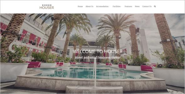 Hotel WordPress Website Theme