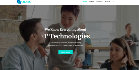 IT Technologies WordPress Theme