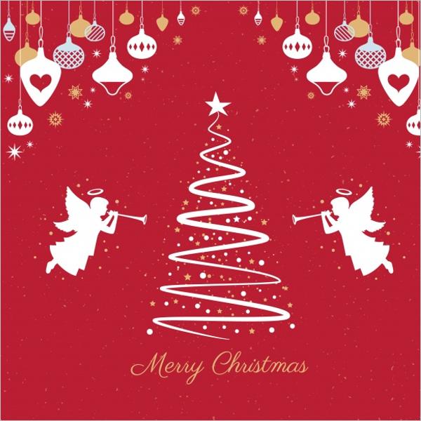 Illustration Christmas Tree Drawing Ideas