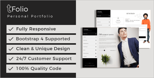 Indesign Portfolio Website Template