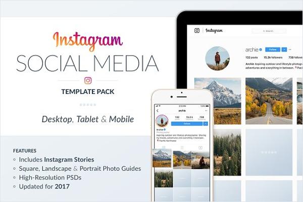 Instagram Social Media Template