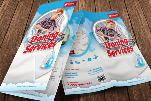 Ironing & Laundry Services Brochure