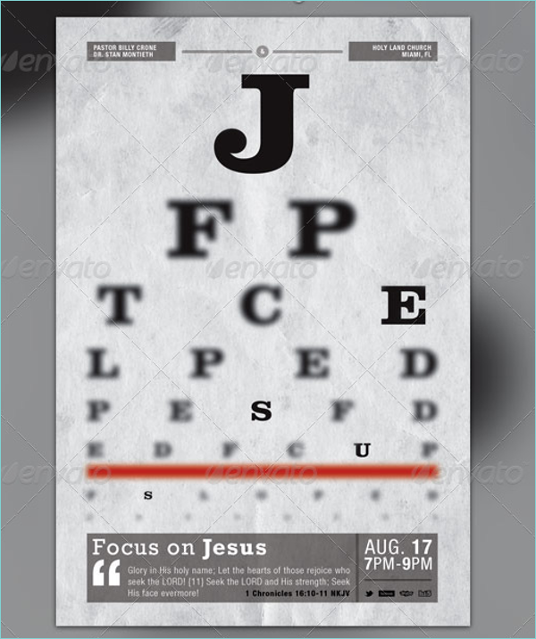 Jesus Church Poster Template