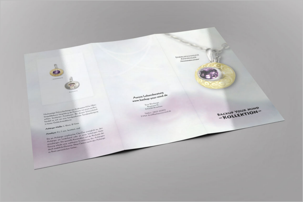 Jewelry Brochure Design Template