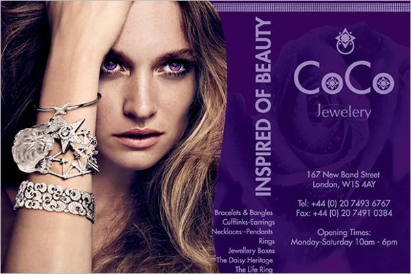 Jewelry Brochure Format