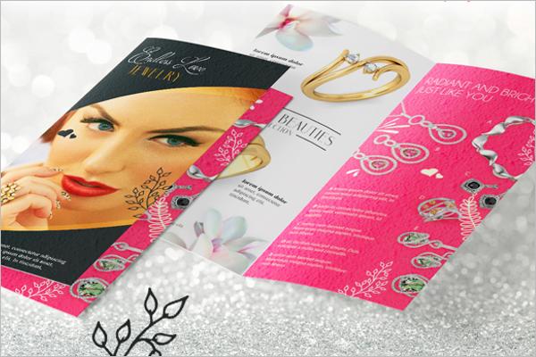 Jewelry Brochure Template Free
