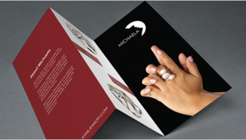 Jewelry Brochure Design Templates