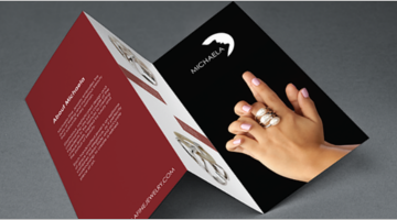 Jewelry Brochure Design Templates