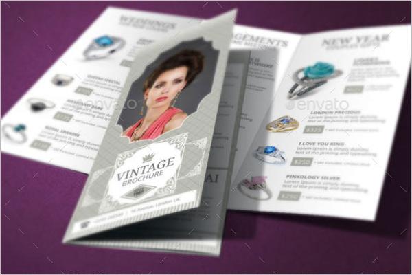 Jewelry Shop Brochure Template