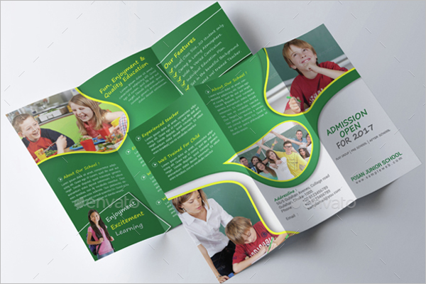 Junior School Trifold Brochure