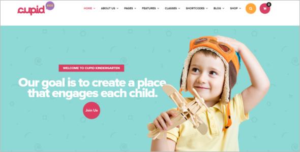 Kid Friendly WordPress Theme