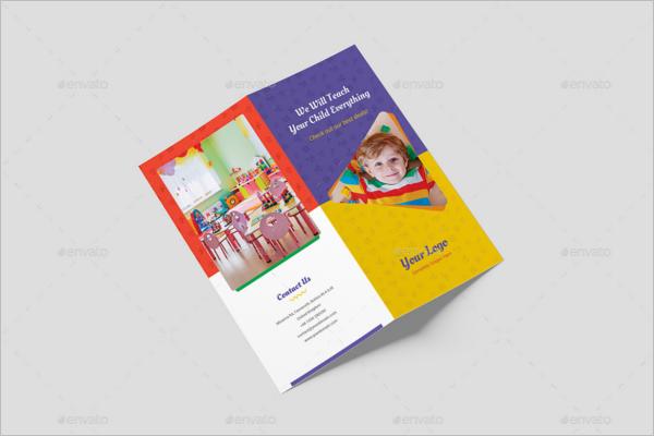 Kids Bifold Brochure Template