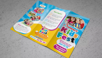 Kids Brochure Templates