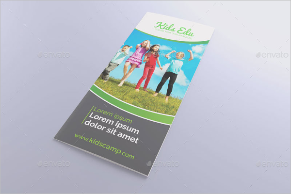 Kids Education Brochure Template