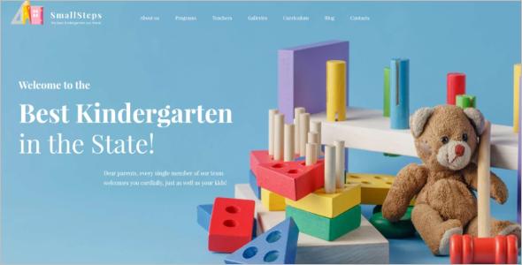 Kids Learning WordPress Theme