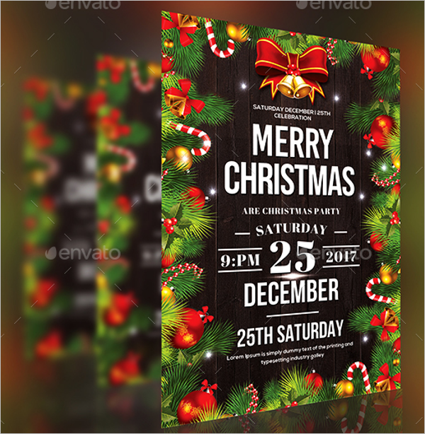 Kids Merry Christmas Party Template