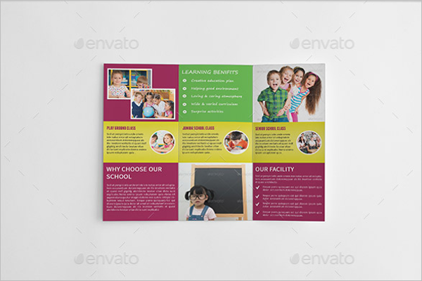 Kids School Admission Brochure