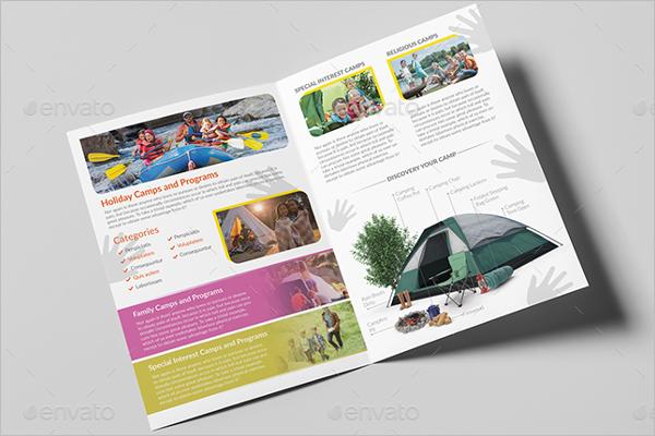 Kids Summer Camp Brochure
