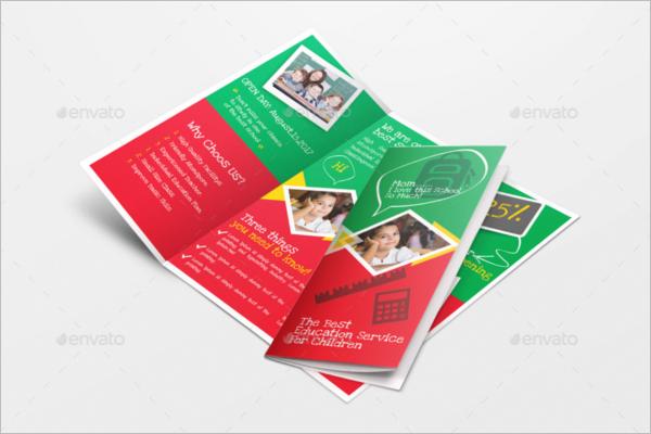 Kidz School brochure template