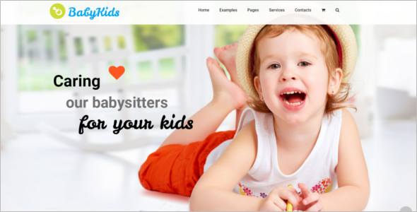 Kindergarten WordPress Template