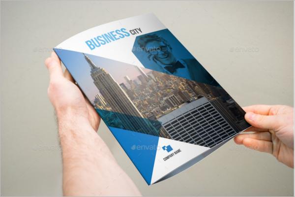 Large Brochure Template