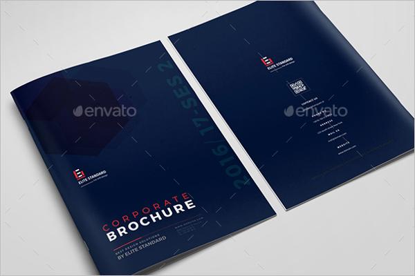 Large Format Brochure Template