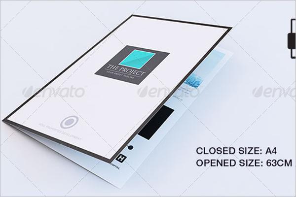 Large Tri Fold Property Brochure