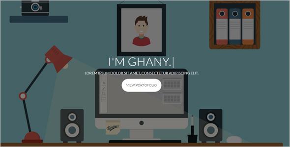 LatestPersonal Website Template