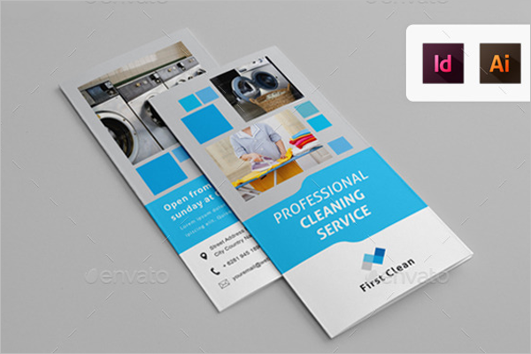 Laundry Brochure InDesign