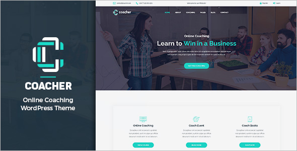 Life Coaching WordPress Theme