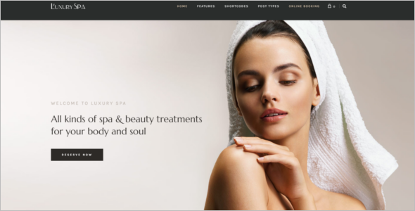 Luxury Spa WordPress Theme